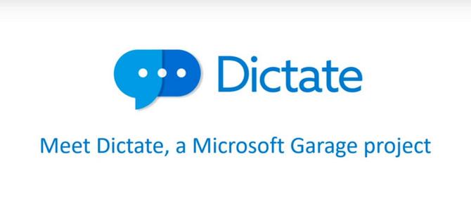 """Nhập liệu bằng giọng nói với tiện ích Dictate """"chính chủ"""" Microsoft - ảnh 1"""