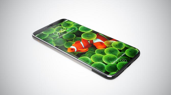 3 phương án đặt cảm biến vân tay trên màn hình iPhone 8