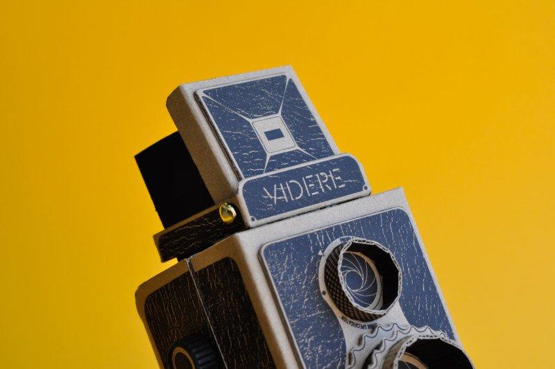 VIDERE 35mm: Máy ảnh DIY độc đáo sử dụng film 35mm