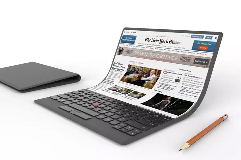 Lenovo ra mắt concept laptop màn hình cong rất lạ mắt