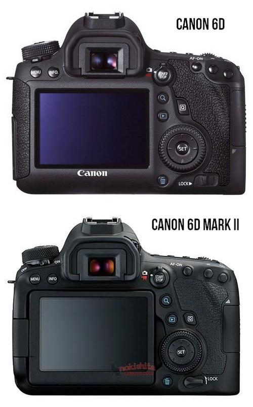 Lộ ảnh Canon 6D Mark II: cảm biến CMOS 26.2MP, chụp liên tiếp 6.5fps