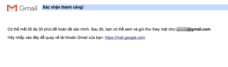 Ủy quyền cho người khác truy cập vào tài khoản Gmail không cần mật khẩu