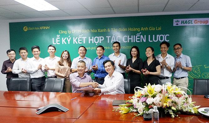 Hoàng Anh Gia Lai cung cấp trái cây cho Bách Hoá Xanh