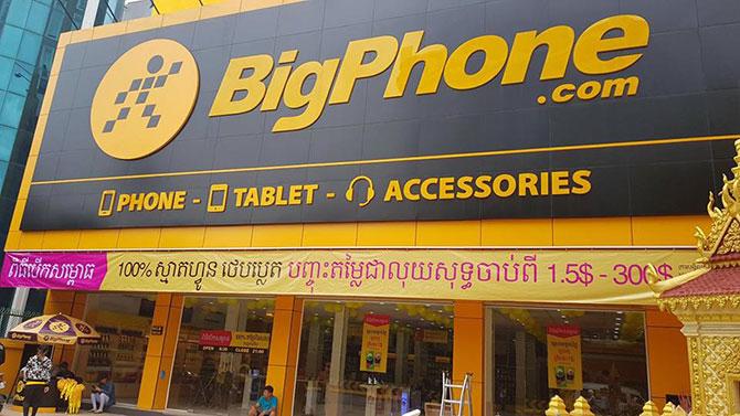 Thế Giới Di Động mở cửa hàng đầu tiên ở Campuchia