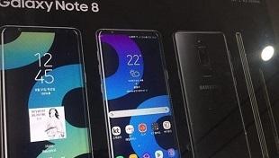 Lộ quảng cáo Galaxy Note 8 với camera kép, cảm biến vân tay mặt lưng