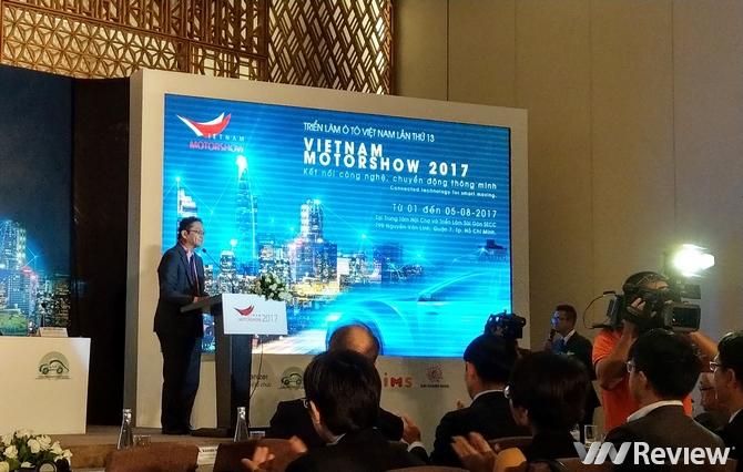Triển lãm Vietnam Motor Show 2017 sẽ tập trung vào công nghệ kết nối