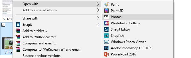 Cách đơn giản để chuyển file ảnh thành PDF trên Windows 10