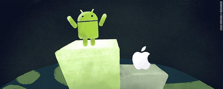 """Android đã đánh bại iPhone để giành vị thế """"thống trị"""" như thế nào?"""