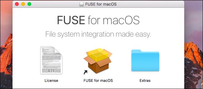 Cách ghi dữ liệu vào ổ NTFS trên macOS
