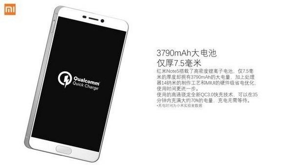 Redmi Note 5 lộ diện: Snapdragon 630/660, pin 3.790mAh - 195302