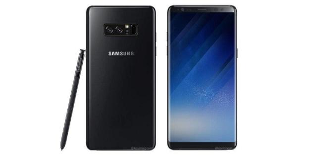 Tiếp tục lộ ảnh Galaxy Note 8