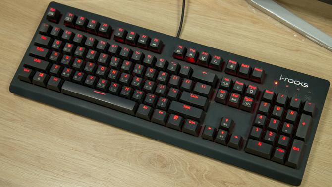 Trên tay phím cơ i-Rocks K65M: nâng cấp với Cherry Switch, giá cao hơn