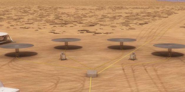 NASA muốn dùng lò phản ứng hạt nhân để cung cấp điện trên Sao Hỏa