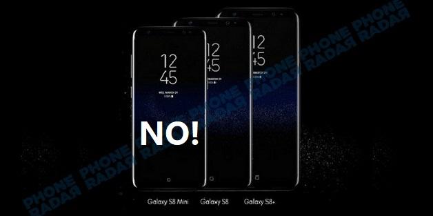 Kỹ sư Samsung: Sẽ không có chiếc Galaxy S8 mini nào cả