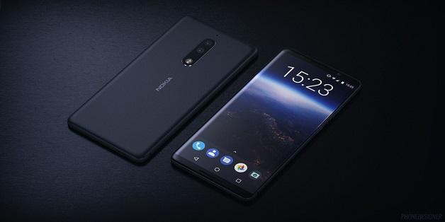 Ốp lưng Nokia 9 lộ diện với camera kép và thiết kế bo cong