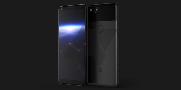 Lộ ảnh Google Pixel XL (2017): viền siêu mỏng đây rồi!
