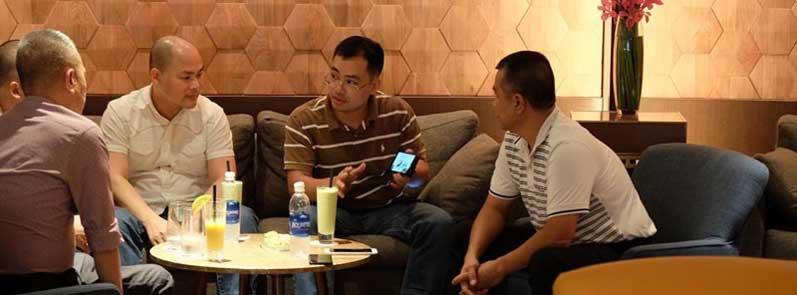 Bphone 2 xuất hiện trong cuộc gặp CEO Bkav và Thế Giới Di Động tại Sheraton Saigon