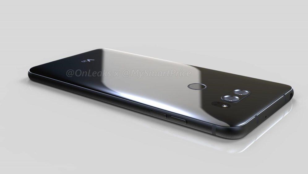 Đây là hình ảnh render của LG V30? Không còn màn hình phụ