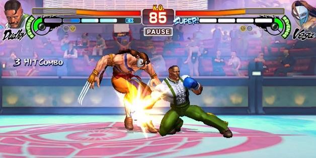 Street Fighter IV Champion Edition đã có mặt trên iOS