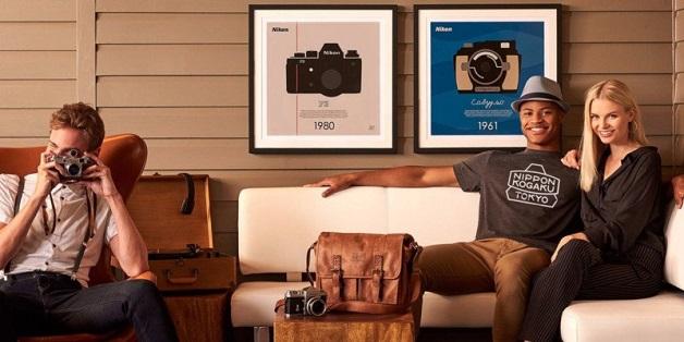 """Bộ sưu tập poster kỷ niệm 100 năm """"cực độc"""" của Nikon"""