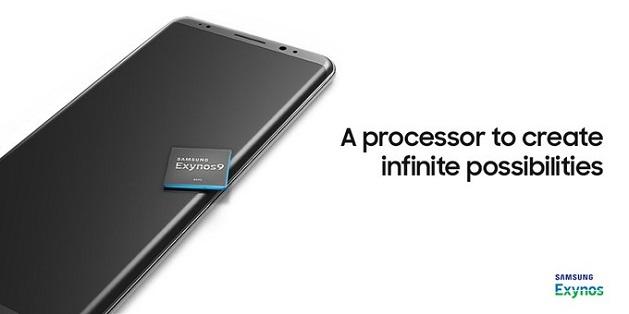 Samsung để lộ Galaxy Note 8 trong ảnh quảng cáo Exynos 9