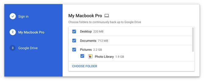 Google giới thiệu ứng dụng sao lưu toàn bộ máy tính lên Google Drive