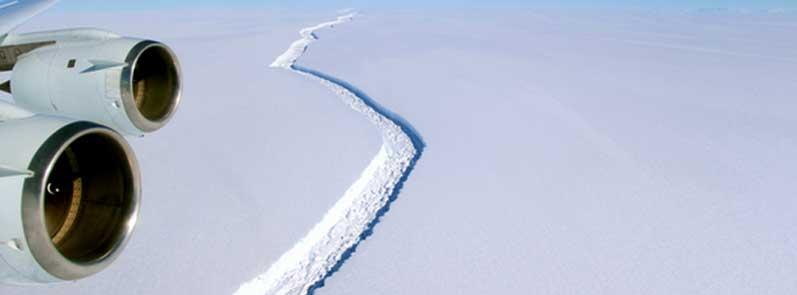 4 điều cần biết về tảng băng 1,1 nghỉn tỷ tấn vừa tách ra khỏi Nam Cực