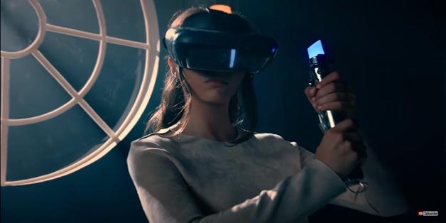 Lenovo bắt tay Disney ra mắt game VR nhập vai Star Wars