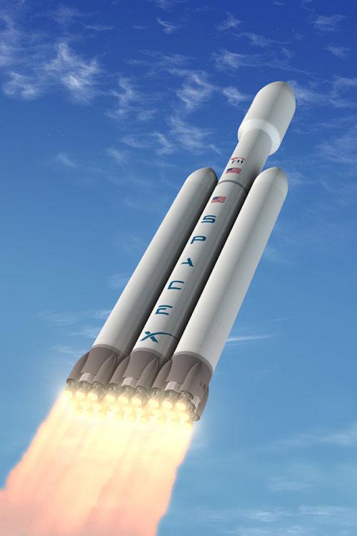 SpaceX muốn đưa 2 người giàu có lên mặt trăng vào 2018