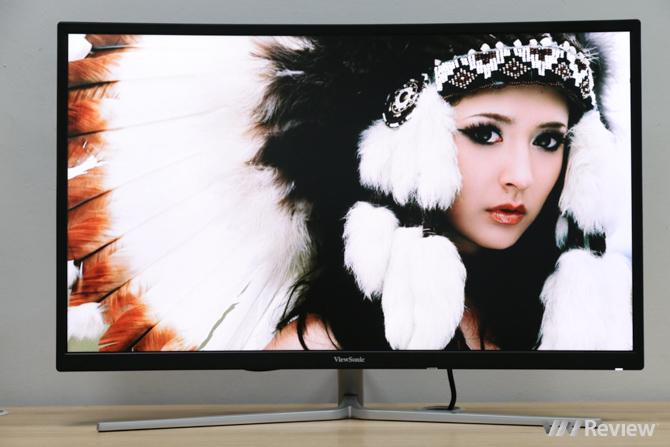 Đánh giá màn hình ViewSonic XG3202-C: Kiểu dáng đẹp, kích thước lớn, tần số quét cao