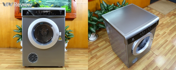 Trải nghiệm máy sấy quần áo Electrolux EDS7552S: sấy nhanh, chạy êm, ít nhăn