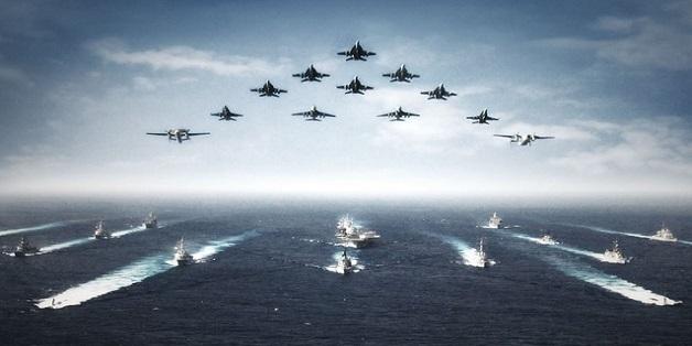 LCAC - tàu đổ bộ khổng lồ của hải quân Mỹ đưa thủy quân ra chiến trường