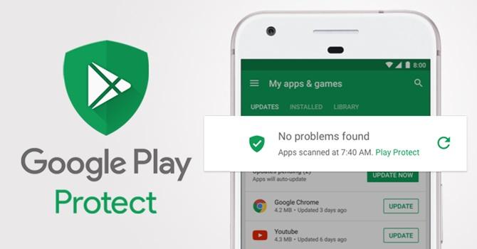 Google Play Protect đã bắt đầu triển khai trên ứng dụng Play Services và sẽ sớm có mặt trên Google Play