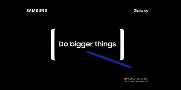 Samsung công bố sự kiện Unpacked diễn ra ngày 23/8, sẽ có Galaxy Note 8?