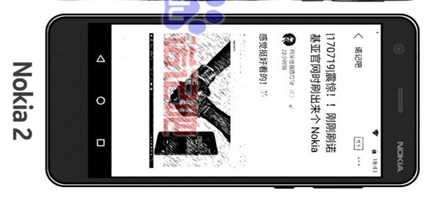 Đây là hình ảnh đầu tiên của Nokia 2 giá rẻ