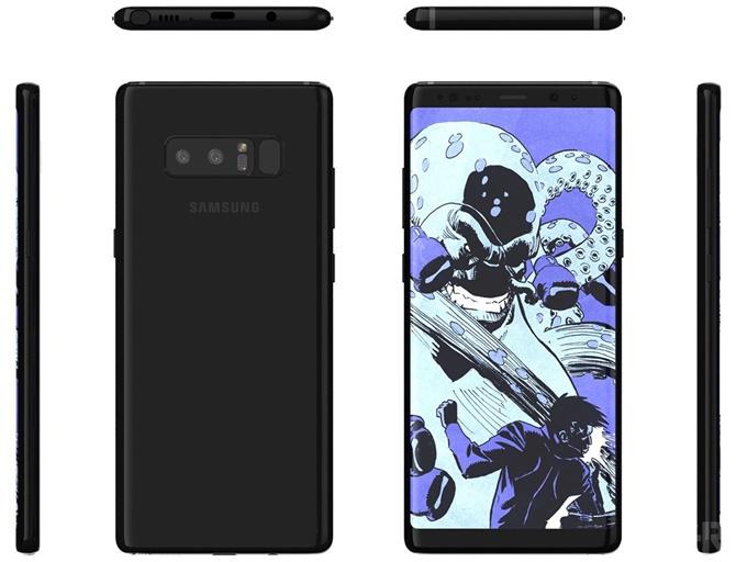 Lộ diện hình ảnh báo chí của Galaxy Note 8 trước giờ G