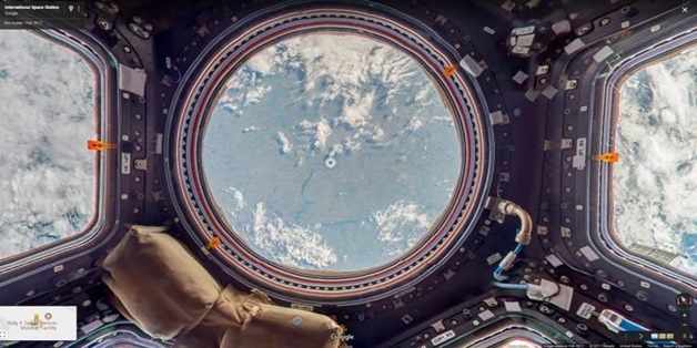 Google Street View cho phép bạn du hành vào không gian với tàu ISS