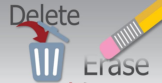 Delete, Erase, Wipe và Shred khác nhau như thế nào?