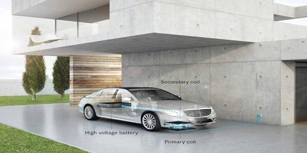 Xe hybrid của Mercedes-Benz được trang bị sạc không dây vào năm 2018