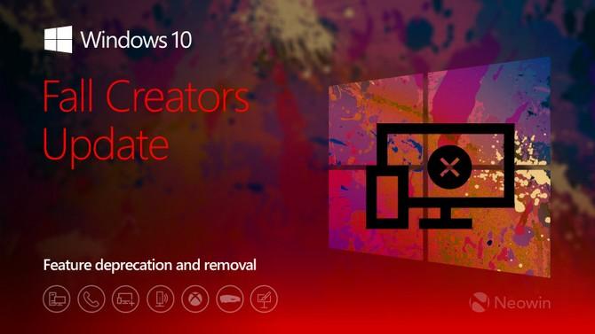 Ngoài Paint, còn nhiều tính năng sẽ biến mất trong bản cập nhật Windows 10 Fall Creators