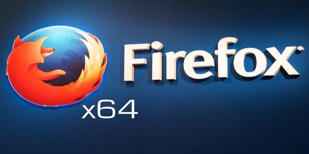 Phiên bản Firefox 56 mặc định chạy ở chế độ 64-bit