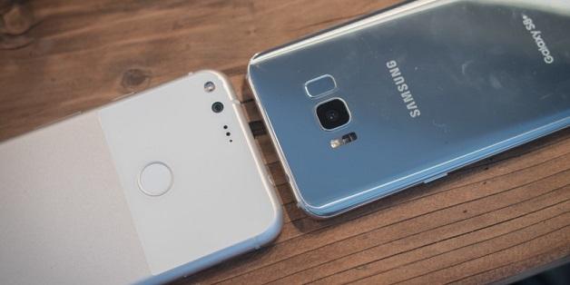 Người dùng Pixel/ Pixel XL và Galaxy S8/ S8+ chi cho app ngang ngửa người dùng iPhone