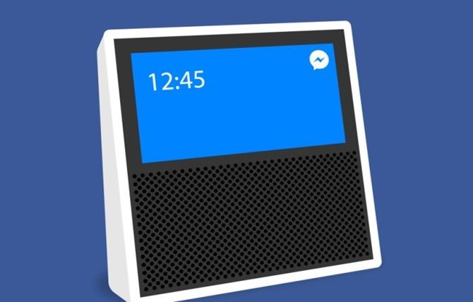Facebook đang phát triển loa thông minh hoạt động bằng màn hình cảm ứng riêng