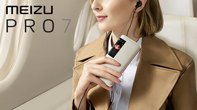 Meizu Pro 7 và Pro 7 Plus ra mắt: 2 màn hình, 2 camera
