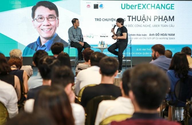 TGĐ Công nghệ Uber toàn cầu gặp gỡ cộng đồng startup Việt Nam