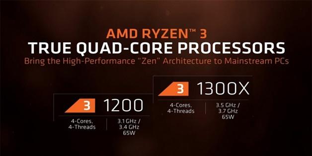 AMD ra mắt chip Ryzen 3 cho máy tính để bàn, hỗ trợ ép xung