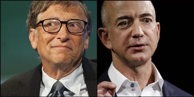 Jeff Bezos chỉ giữ ngôi giàu nhất thế giới được vài giờ