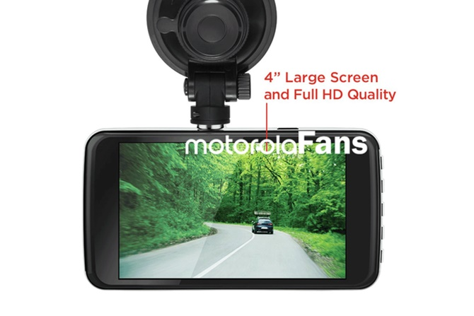 Motorola chuẩn bị giới thiệu camera mới có màn hình cảm ứng 4 inch, giá 99 USD