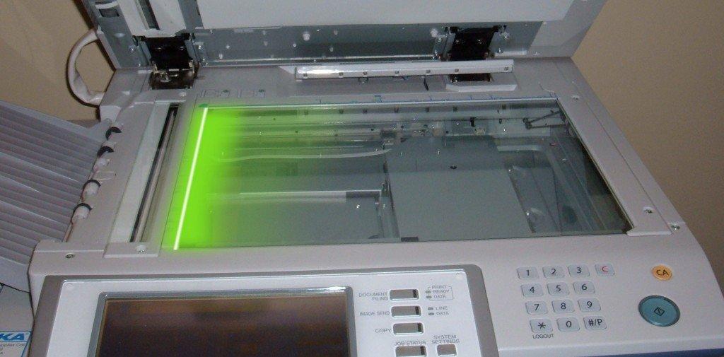 Máy photocopy hoạt động như thế nào?