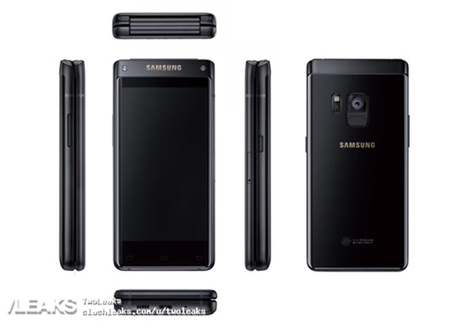 Lộ diện ảnh render đầu tiên chiếc điện thoại nấp gập cao cấp của Samsung